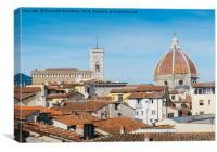 Cattedrale di Santa Maria del Fiore, Florence, Canvas Print