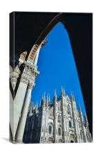 Milan's Duomo Cathedral, Canvas Print