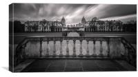 The Queen's House balcony, Canvas Print