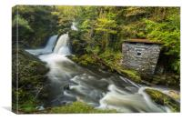 Colwith Force Hut, Canvas Print