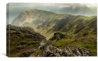 High Crag, Canvas Print