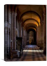 Arches and Light, Canvas Print