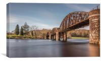 Loch Ken Viaduct, Canvas Print