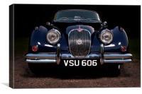 Classic Jaguar XK150, Canvas Print