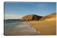 Papagayo Beach, Lanzarote, Canvas Print