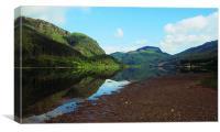 Loch Lubnaig, Scottish landscape, Canvas Print