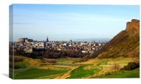 Edinburgh cityscape , Canvas Print
