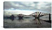 Forth Rail Bridge, Queensferry, Scotland, Canvas Print