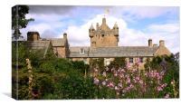 Cawdor Castle and gardens, Scotland, Canvas Print