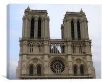 Notre Dame de Paris, Canvas Print