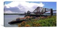 Forth Rail bridge, Queensferry, Scotland, Canvas Print
