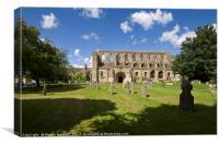 Malmesbury Abbey, Canvas Print