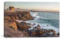 El Cotillo Cliffs, Canvas Print