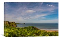 Worms Head Gower, Canvas Print