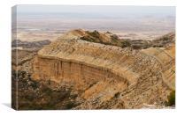 High desert plateau , Canvas Print