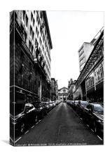 Liverpool, streets, Canvas Print