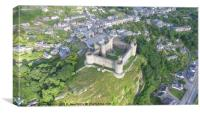 Harlech Castle from a different perspective, Canvas Print