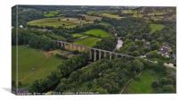 Pontcysyllte Aqueduct North Wales, Canvas Print