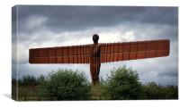 Angel of the North in Gateshead, Canvas Print