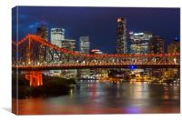 Story Bridge Brisbane, Canvas Print