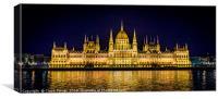 Budapest Parliament, Canvas Print