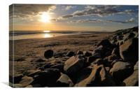 Barmouth Sunset, Canvas Print