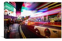Leicester Square, Canvas Print