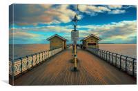 Penarth pier South Wales , Canvas Print