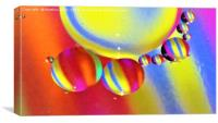 Spheres and Stripes                , Canvas Print