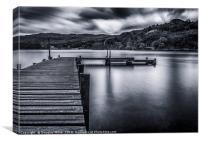 Inchcailloch Pier, Loch Lomond, Canvas Print