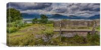 Inchcailloch Viewpoint, Canvas Print