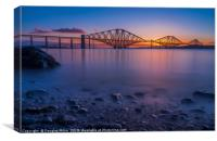 The Forth Bridge, Canvas Print