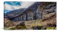Glen Ogle Viaduct, Canvas Print