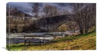 The Bridge of Orchy, Canvas Print