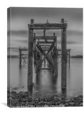 Hawkcraig Pier, Aberdour, Canvas Print
