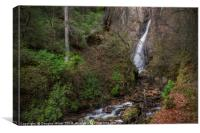 The Grey Mare's Tail Waterfall, Kinlochleven, Canvas Print
