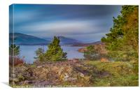 Loch Lomond from Craigie Fort, Balmaha, Canvas Print