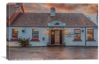 The Clachan Inn, Drymen, Canvas Print