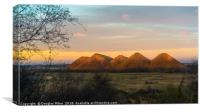 The Five Sisters, Canvas Print