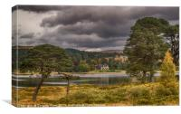Loch Tulla, Canvas Print