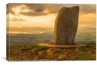 Dumgoyne Summit at Sunset, Canvas Print