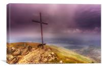 The Cross, Ben Ledi, Scotland, Canvas Print