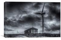 Pates Hill Wind Farm, Canvas Print