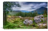 Ben More from the West Highland Way, Canvas Print