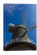 Bircham Windmill, Canvas Print