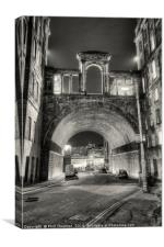 Carlton Road Tunnel and Waterloo Place., Canvas Print