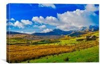 The Welsh Valleys, Canvas Print