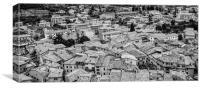 Malcesine Rooftops, Canvas Print