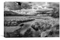 Derwent Water Storm Clouds, Canvas Print