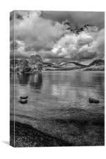 Storm Clouds over Derwent Water, Canvas Print